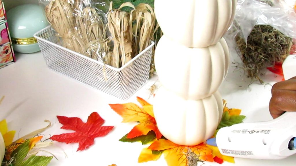 Fall Dollar Tree Diy Pumpkin Topiary