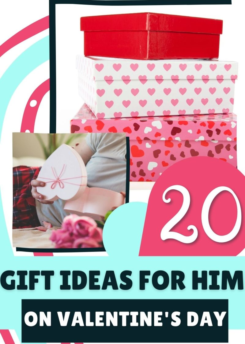 Gift guide ideas for him on Valentines Day