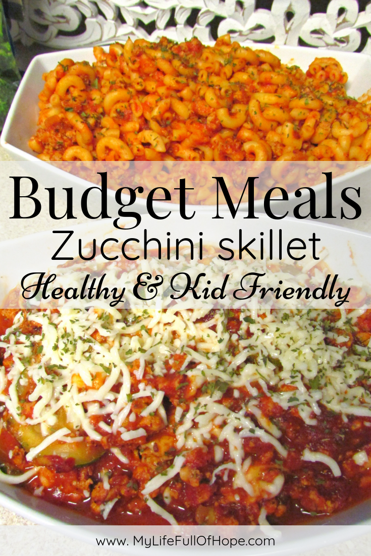 Budget meals for family's, singles and kid friendly meal