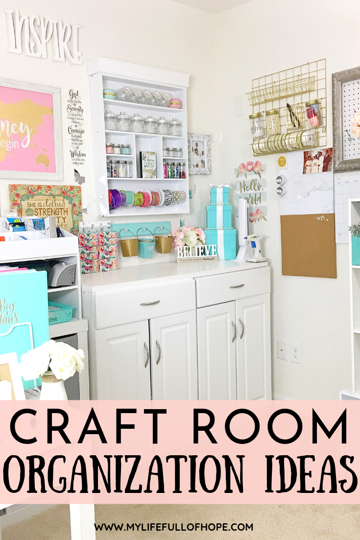 Craftroom organization ideas