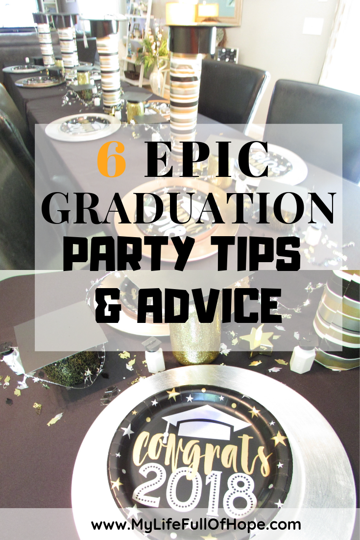 Graduation parties tips and advice