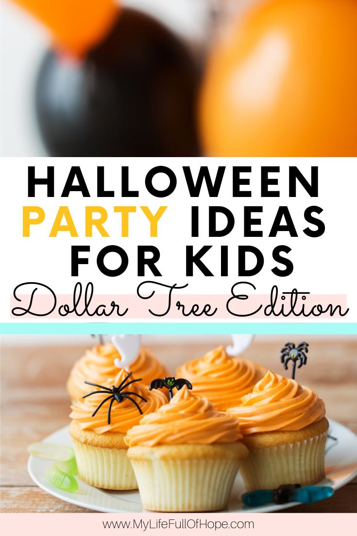 Halloween Dollar Store party ideas