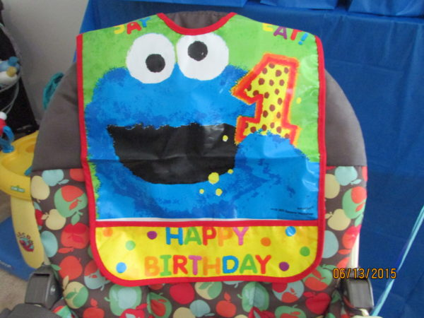 1st birthday cookie monster party