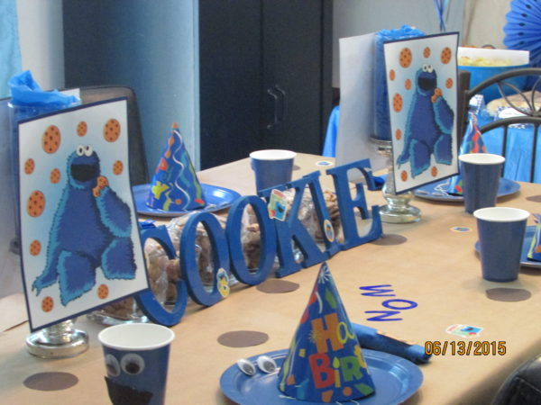 Cookie Monster Birthday Party Ideas for Decorations
