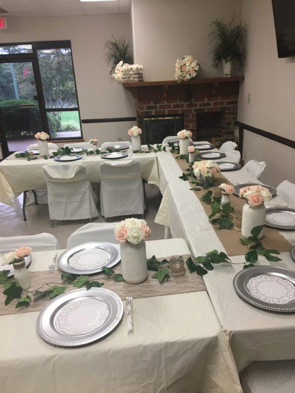 Bridal party Rustic Wedding