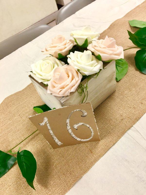 Rustic Wedding Budget Table Centerpiece Ideas