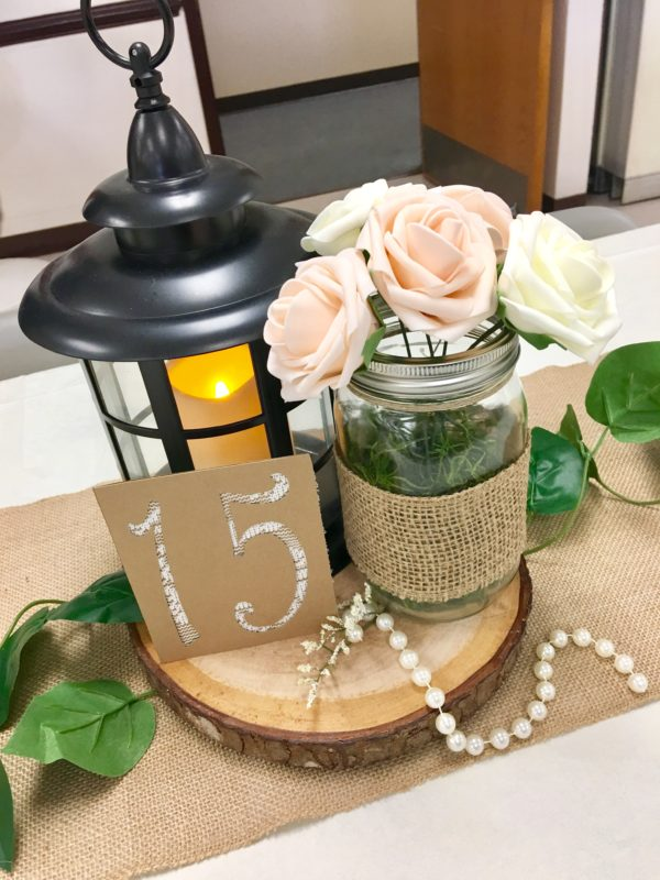 Rustic Wedding Centerpieces for budget wedding