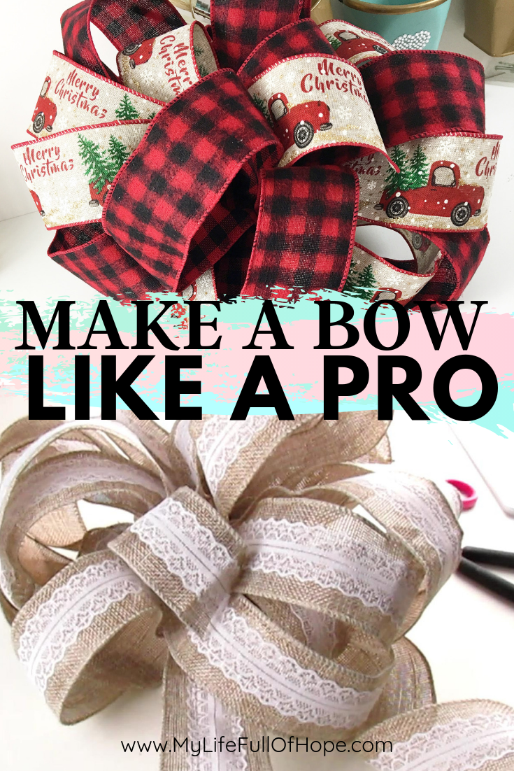 How to make a bow diy