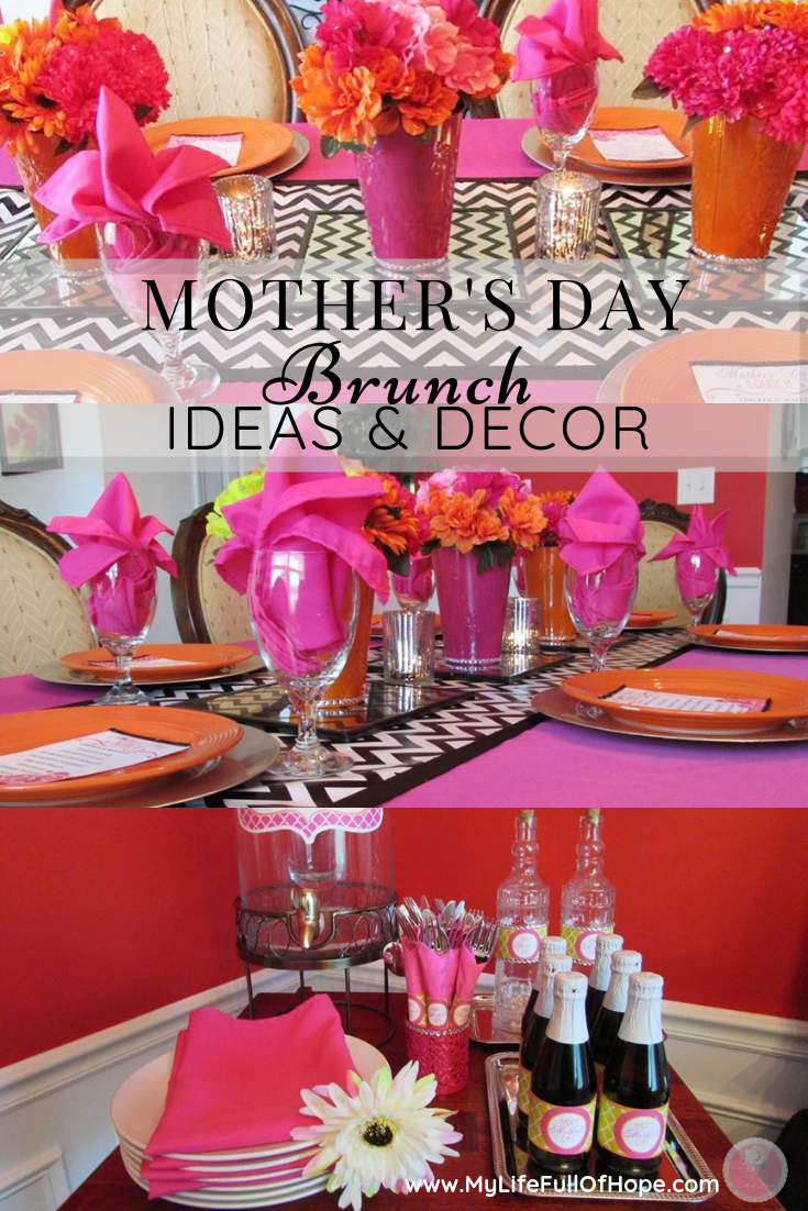 Mothers Day Brunch Ideas, Tablescape, Decor and Recipes