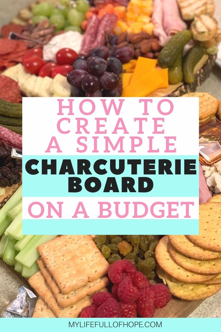 3 charcuterie boards on a budget