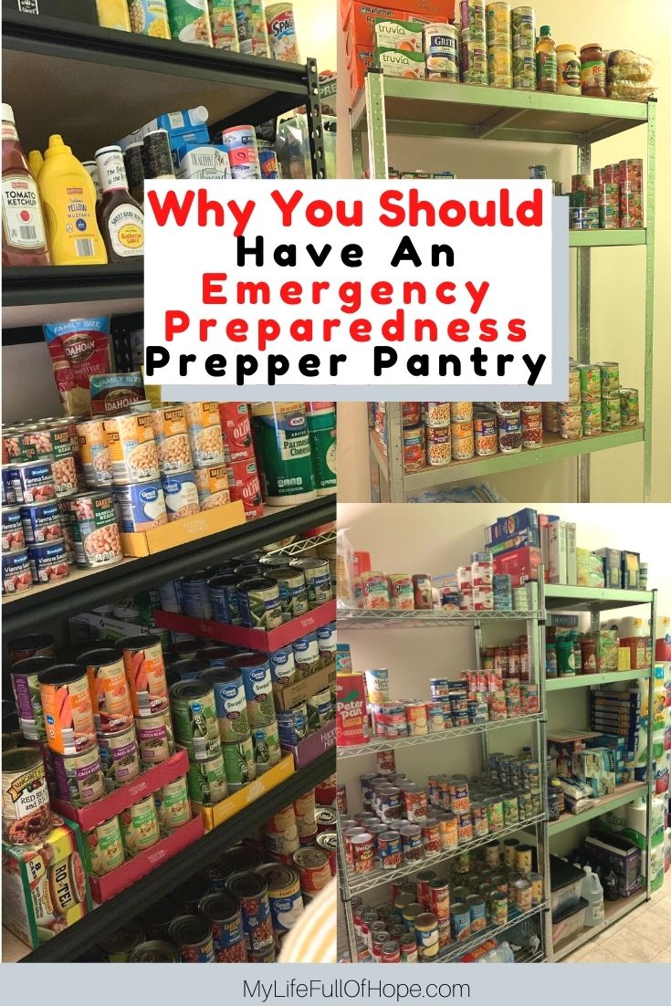 What is a prepper pantry? Why everyone should have one. Have an emergency preparedness prepper pantry